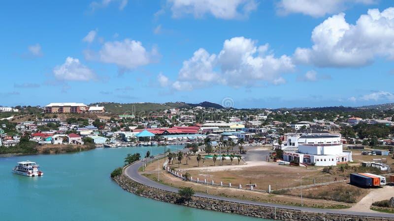 Święty johnÂ, Antigua - fotografia stock