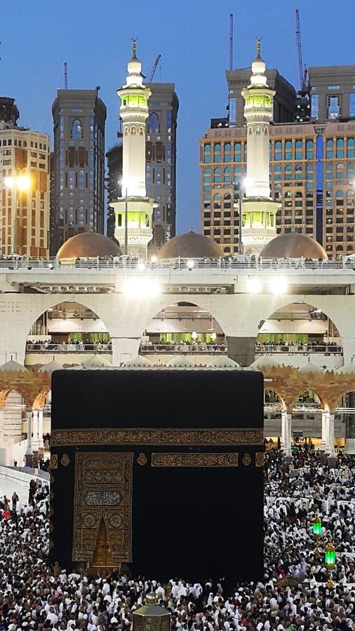 Święty Kaaba zdjęcia stock