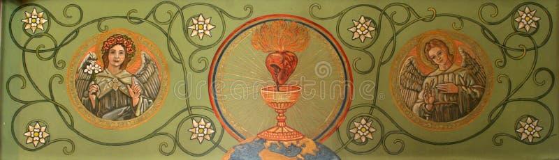 święty kierowy Jesus obrazy stock