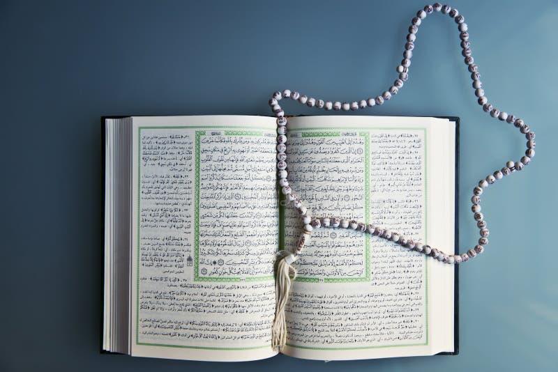 Święty koran otwierający fotografia stock