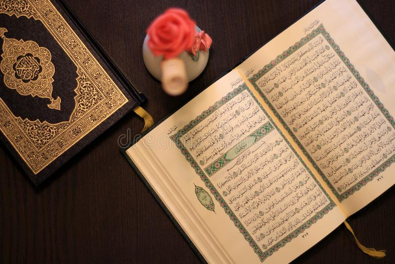 Święty koranu islam zdjęcie stock