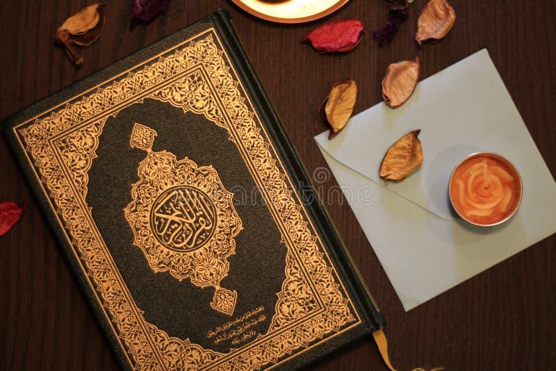 Święty koranu islam fotografia stock