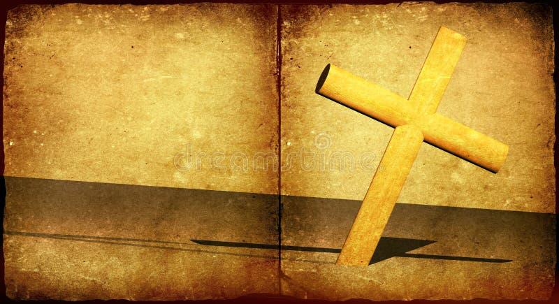 święty krzyż royalty ilustracja