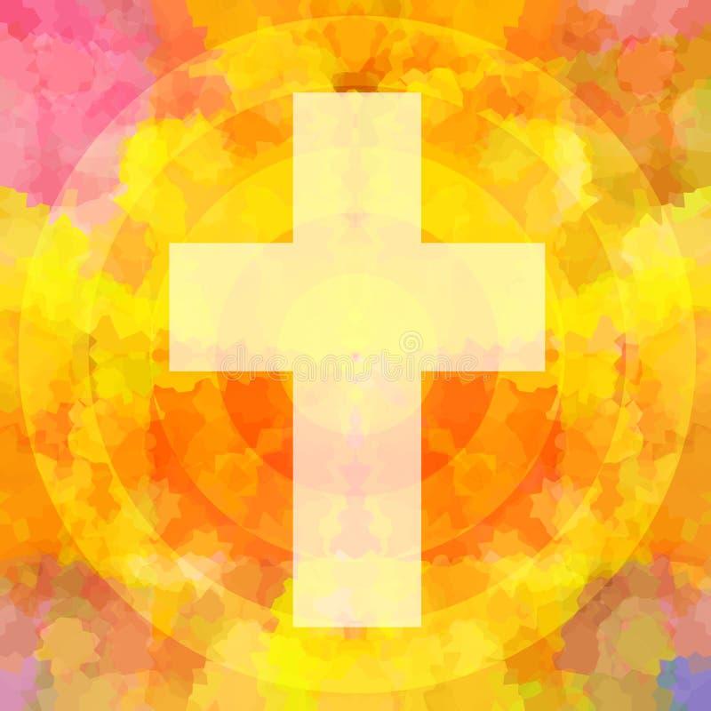 święty krzyż ilustracja wektor