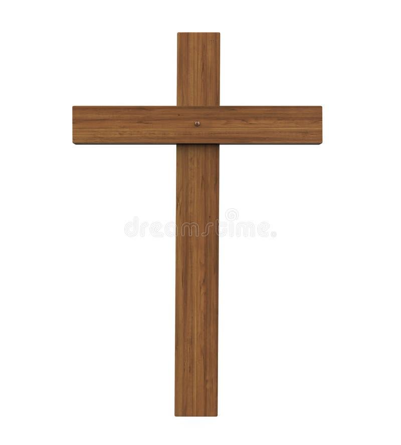 Święty krzyż Odizolowywający ilustracja wektor