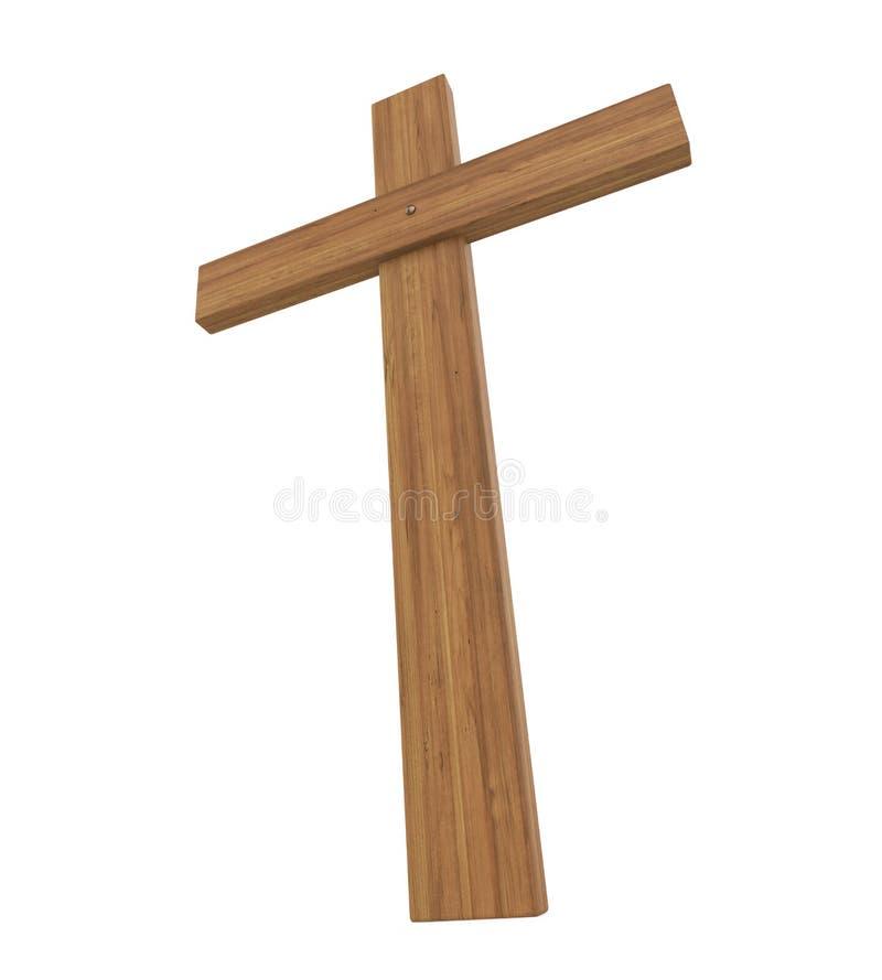 Święty krzyż Odizolowywający royalty ilustracja