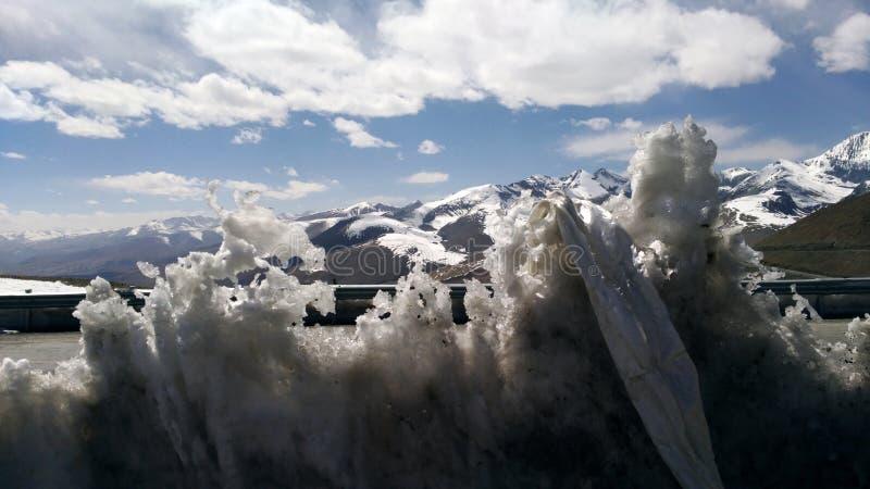 Święty lód fotografia stock