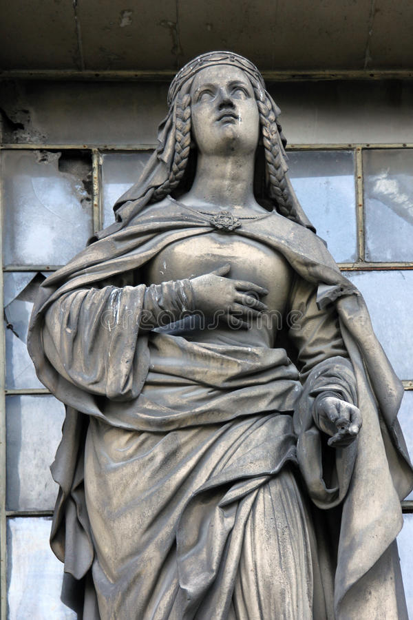 Święty Margaret Szkocja obraz royalty free