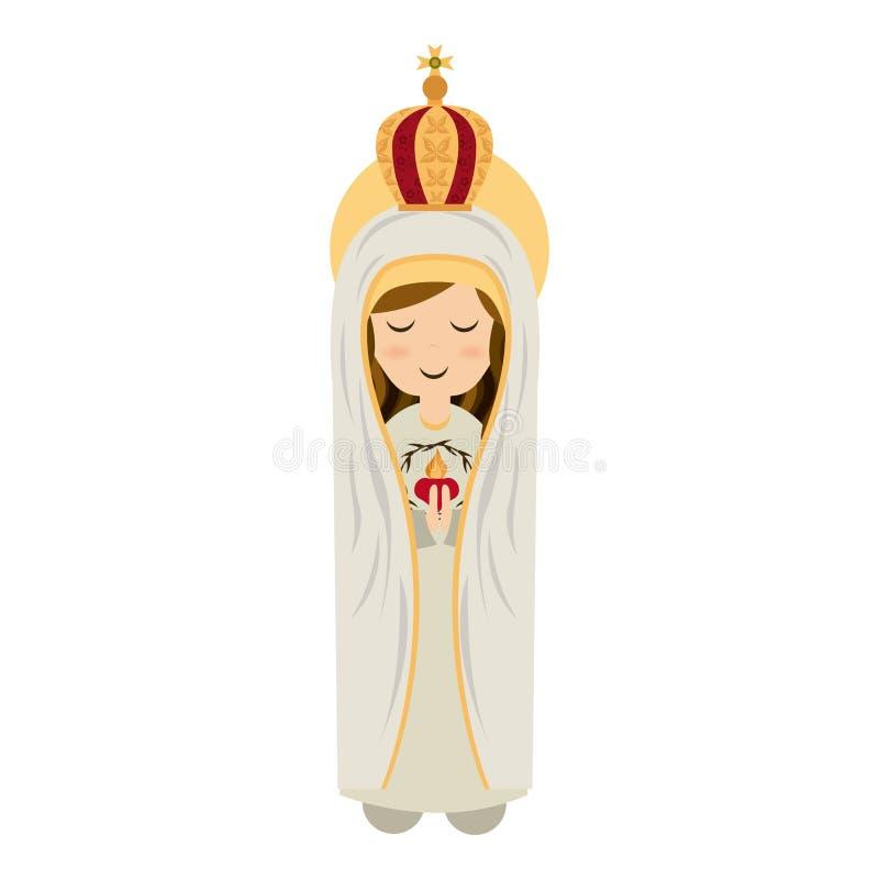 Święty Maryjny projekt ilustracji