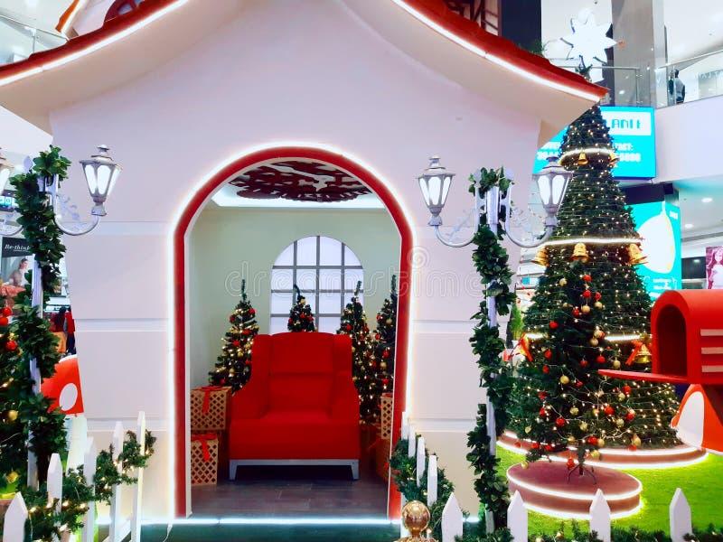 Święty Mikołaj - dom w chandigarh zdjęcie royalty free