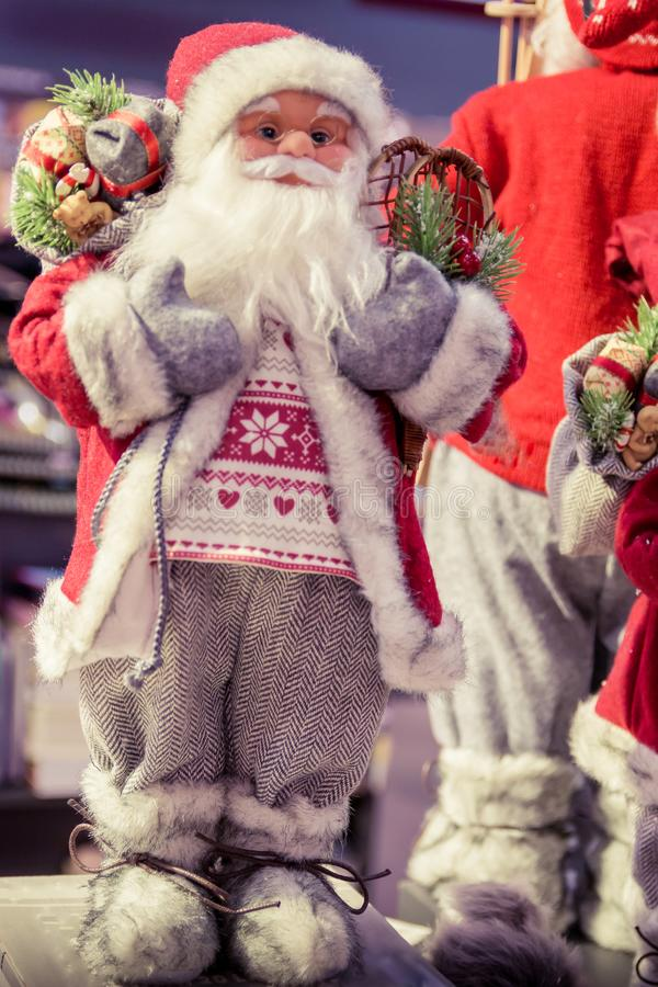 Święty Mikołaj figurka zdjęcia royalty free