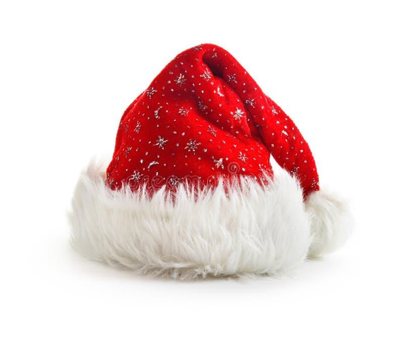 Święty Mikołaj kapelusz zdjęcia stock