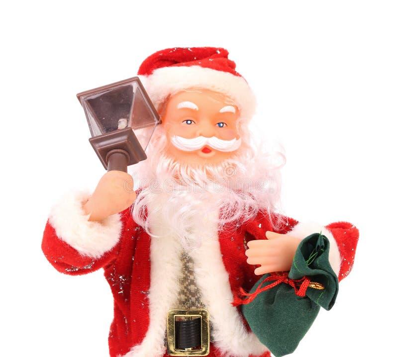 Święty Mikołaj lala zdjęcia stock