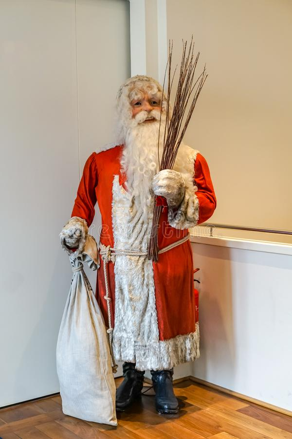 Święty Mikołaj przy Salzburg bożymi narodzeniami Muzealnymi fotografia royalty free