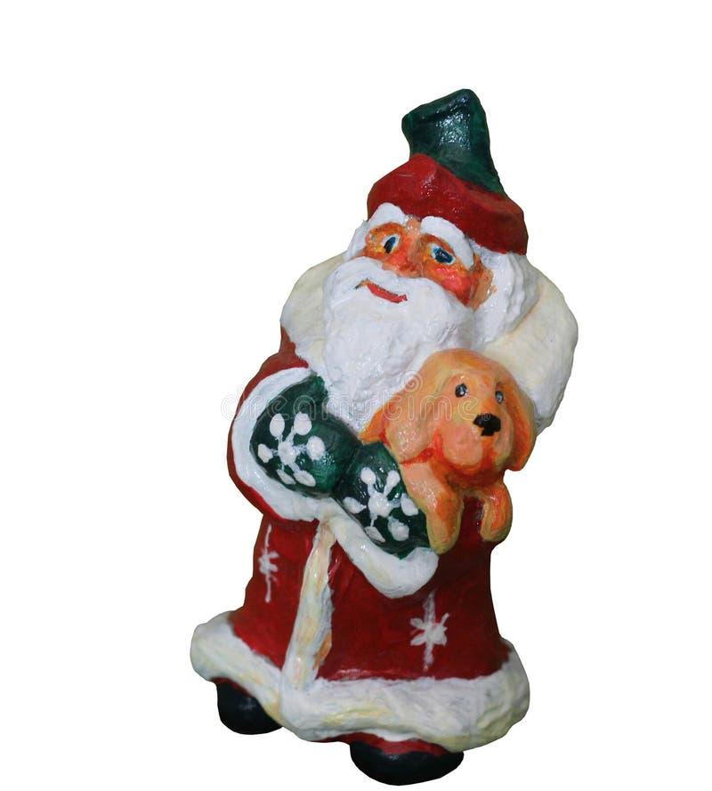Święty Mikołaj, rzeźba royalty ilustracja