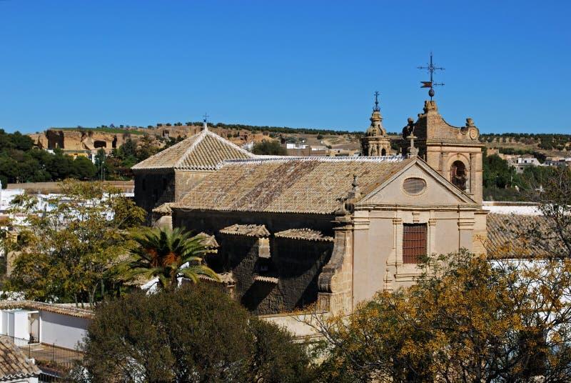 Święty muzeum sztuki, Osuna, Hiszpania. fotografia stock