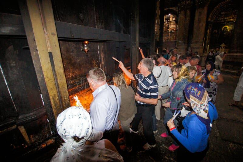 Święty ogień zdjęcie royalty free