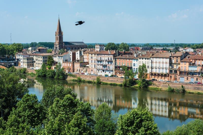 Święty Orens w Montauban, Francja zdjęcia stock