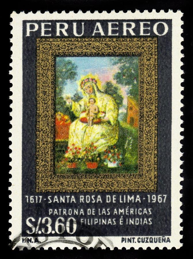 Święty róża Lima fotografia stock