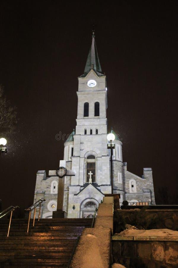 Święty Rodzinny kościół w Zakopane zdjęcie royalty free