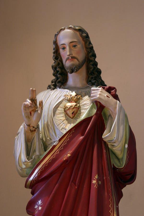 Święty serce Jezus obraz royalty free