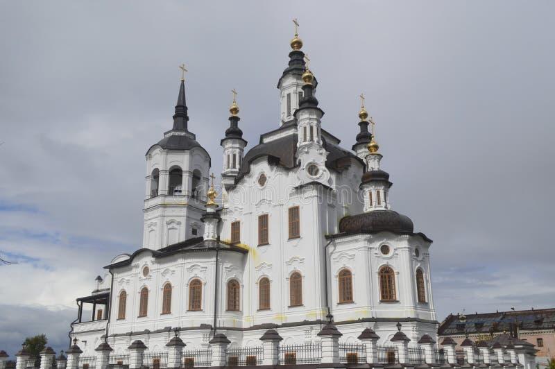 Święty Zachary i Elisabeth kościół (Tobolsk) obrazy royalty free
