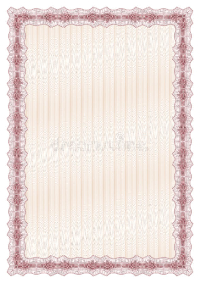świadectwo dyplom royalty ilustracja