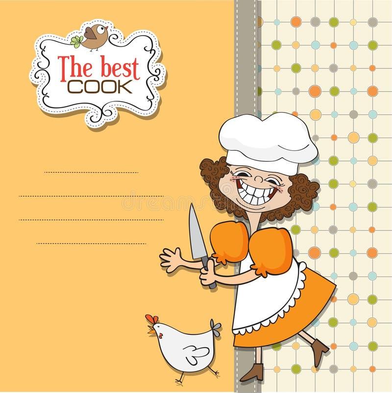 świadectwo najlepszy kucharz ilustracji