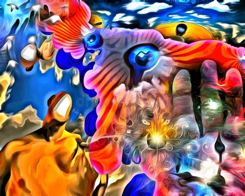 świadomość ilustracja wektor