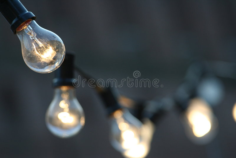 światła żarówki zdjęcia royalty free