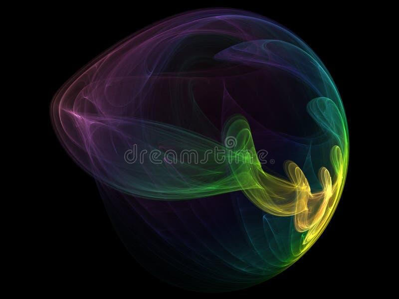 światła abstrakcyjny kształt ilustracji