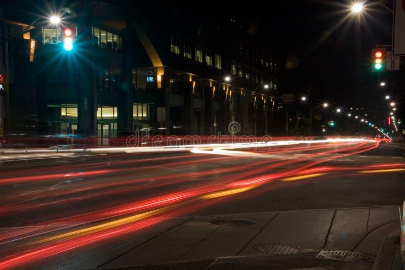 światła przecinające zdjęcia stock