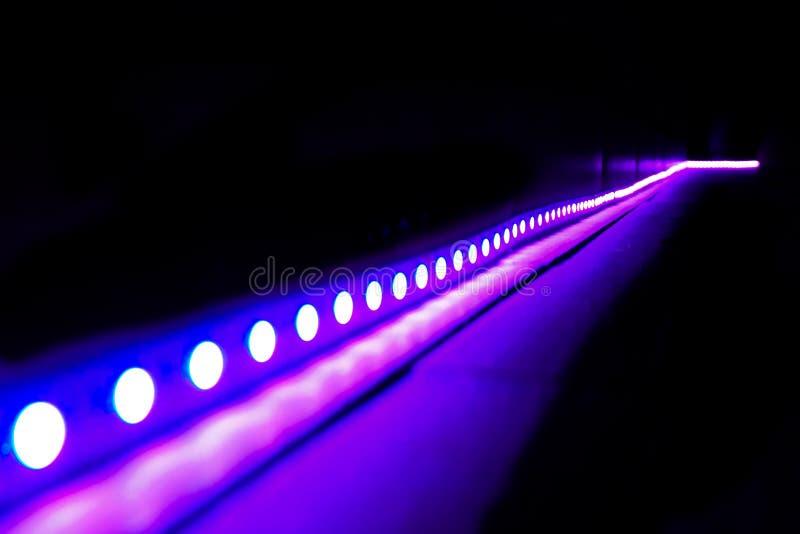 Światła przy nocy przyjęciem obrazy stock