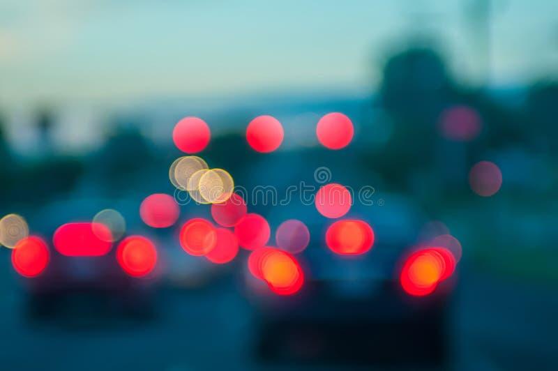 Światła ruchu z ostrości zdjęcie stock
