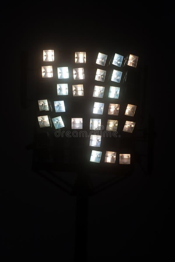 Światła w zmroku obrazy royalty free