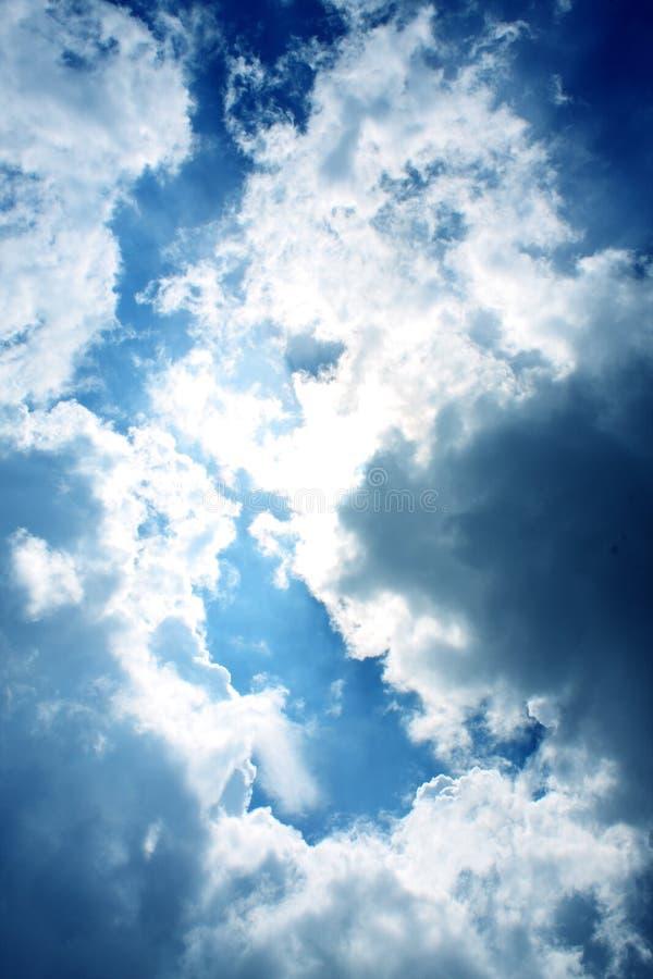 światła z nieba obrazy stock