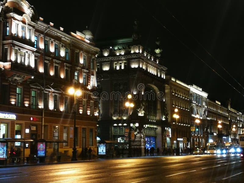 Światło święty Petersburg fotografia royalty free