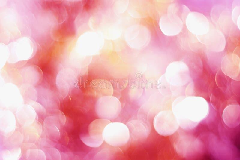 światło abstrakcjonistyczne menchie fotografia stock