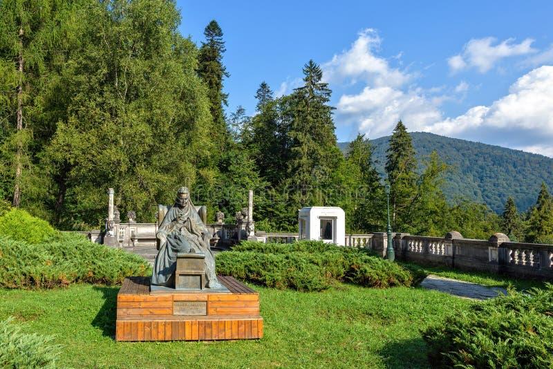 Światło dzienne pogodny widok statua Elisabeth Wied obrazy stock