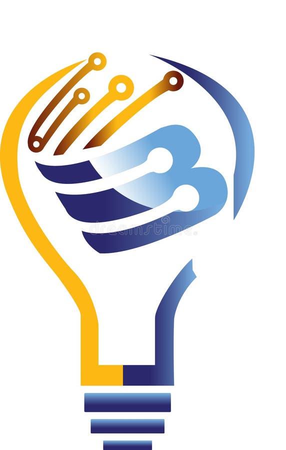 Światło, elektryczność, żarówka, lightbulb, pomysł, drucik, jaskrawy, władza zdjęcie royalty free