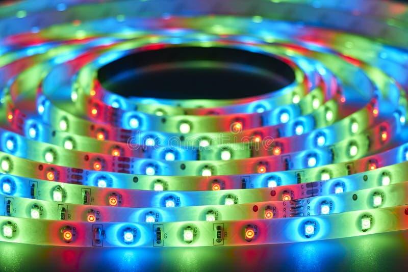 Światło - emitować diody zdjęcia royalty free
