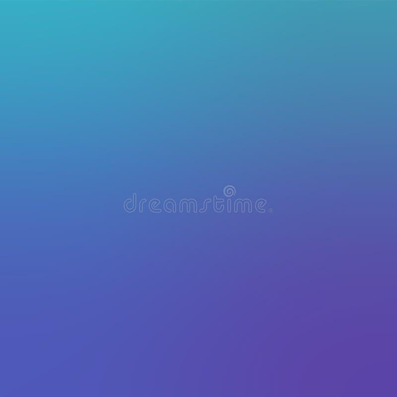 Światło - fiołkowy Modny Gradientowy tło Defocused miękkiej części Zamazany tło ilustracja wektor
