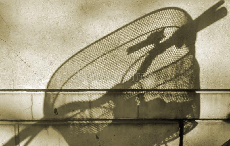 Światło i cień bicykl zdjęcia royalty free