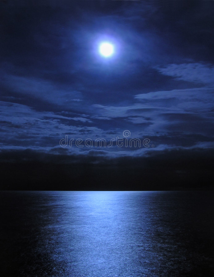 światło księżyca zdjęcie royalty free
