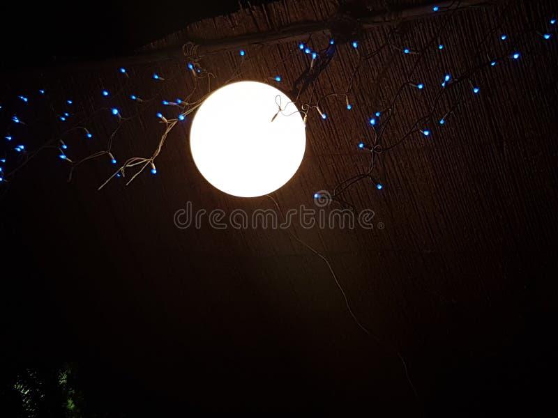 Światło lub księżyc zdjęcie stock