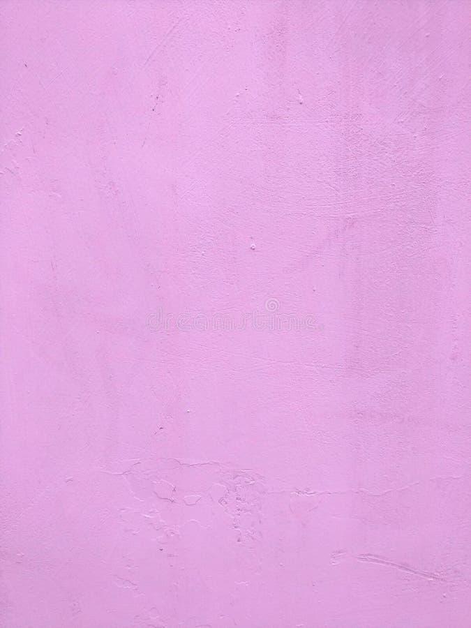 Światło - menchia gipsująca powierzchnia, malująca zdjęcie stock