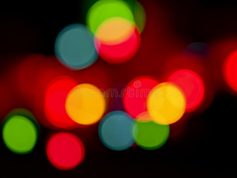 światło okręgi zdjęcie stock