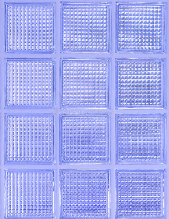 Światło - purpurowa szklana ściana zdjęcie stock