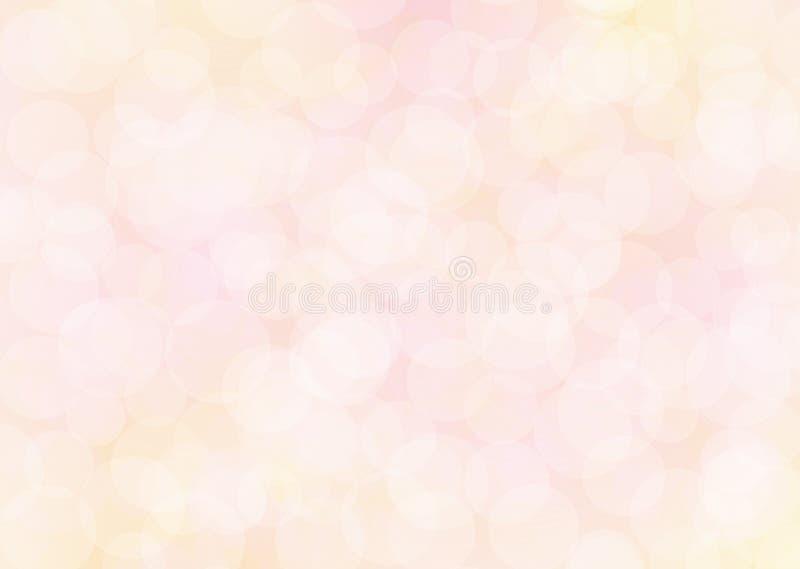 Światło - różowy abstrakcjonistyczny błyskotliwości bokeh zdjęcia stock