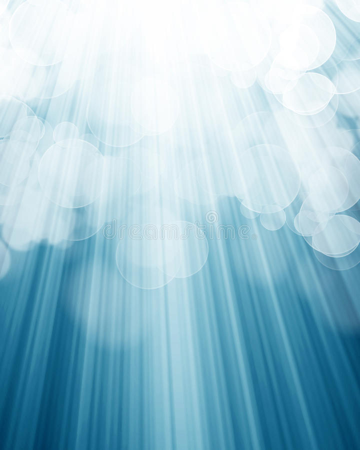 Światło reflektorów ilustracji